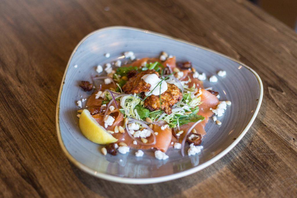 Smoked Salmon Salad - Trattoria Timone